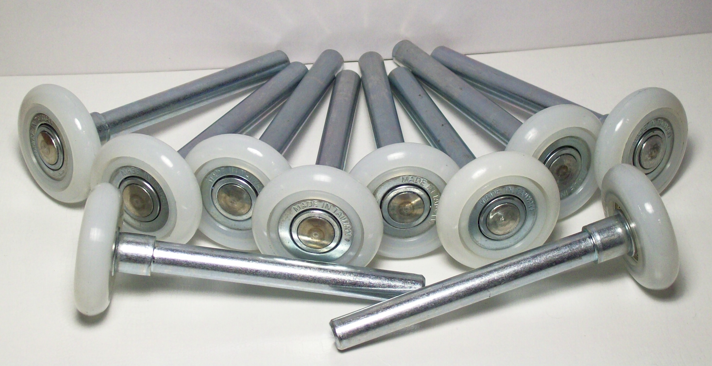 Garage door rollers - 2 Garage Door Roller 10 Pack 4 Inch Stem 13 Bearing